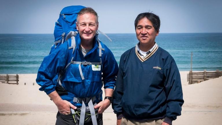 Richard Dunwoody and Satoru Kobiyama