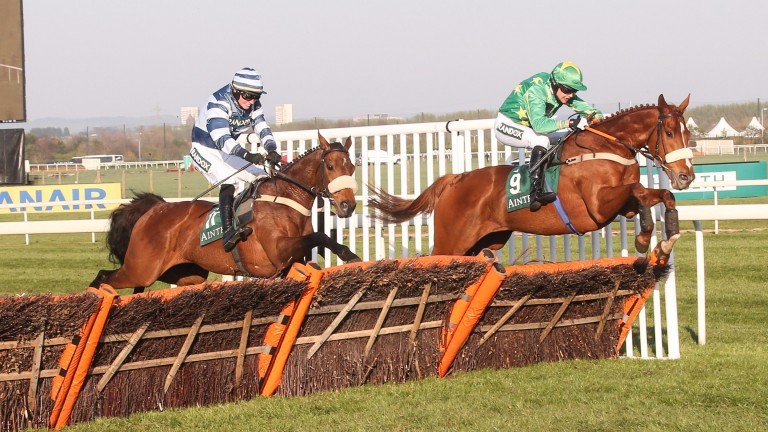 Chesterfield (green silks): has now recorded two big victories in April