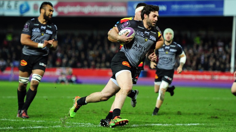 La Rochelle flanker Kevin Gourdon scored against Gloucester in the pool stage