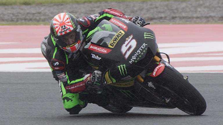 Johann Zarco set the fastest lap on his debut in Qatar