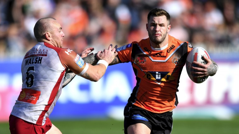 Zak Hardaker is part of a potent Castleford backline