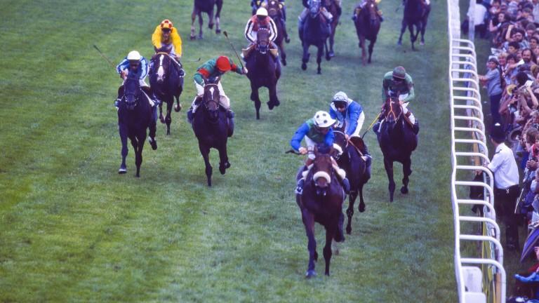 Golden Fleece lands the first leg of owner Robert Sangster's Derby treble