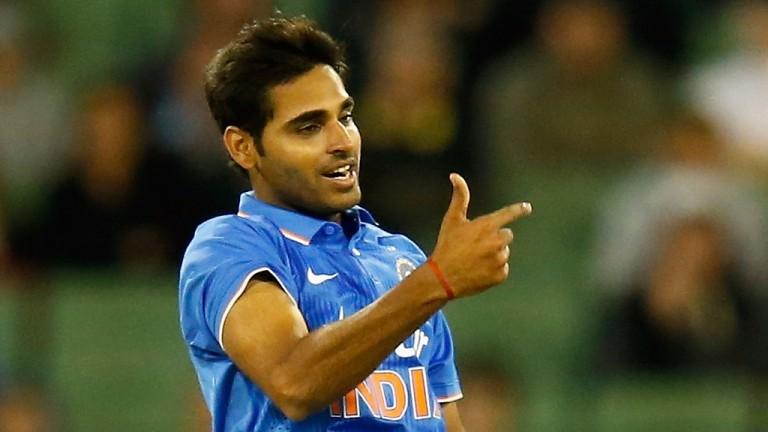 Hyderabad bowler Bhuvneshwar Kumar