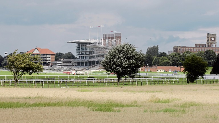 York racecourse after the Ebor meeting was abandoned in 2008