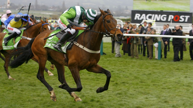 Rock On Ruby: goes away from Overturn to win the 2012 Champion Hurdle at Cheltenham