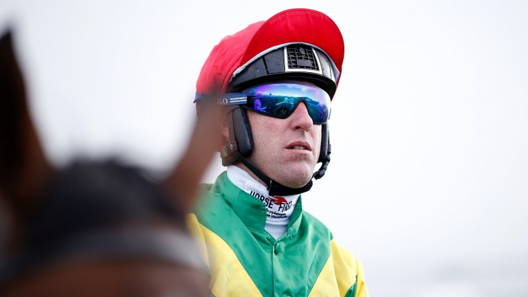 Robbie Power: can score in the Alan Potts silks on A Sizing Network