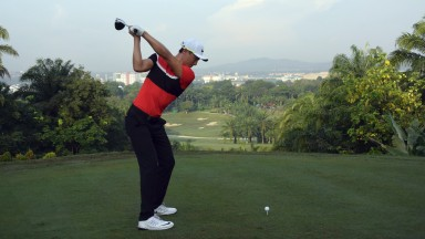 Haotong Li is the home hope this week