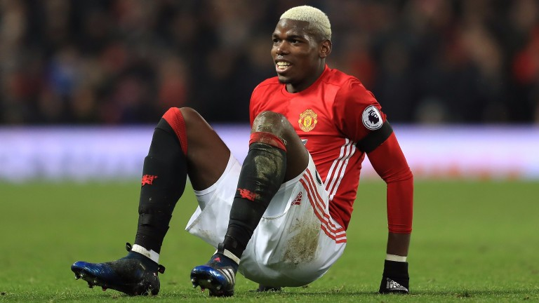 Paul Pogba has struggled for United this season