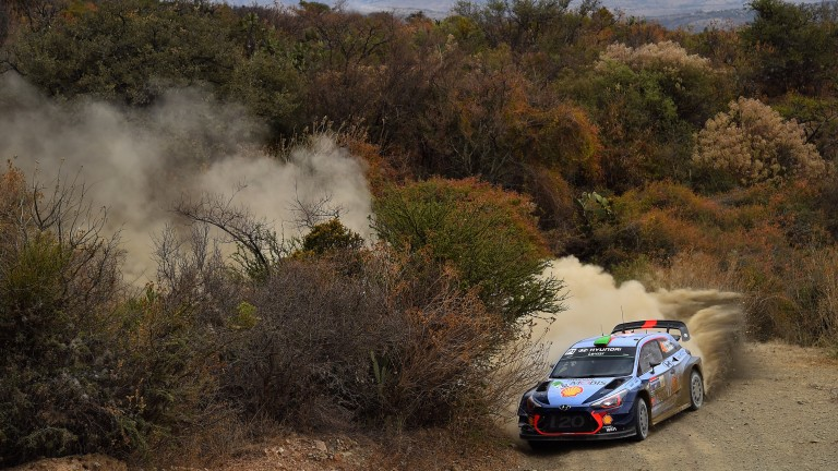 Hayden Paddon is most at home in the gravel events