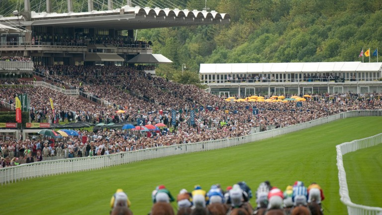 Goodwood: usually quite glorious