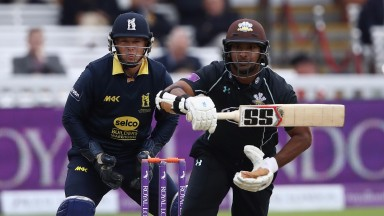 Kumar Sangakkara is the kingpin of Surrey's batting