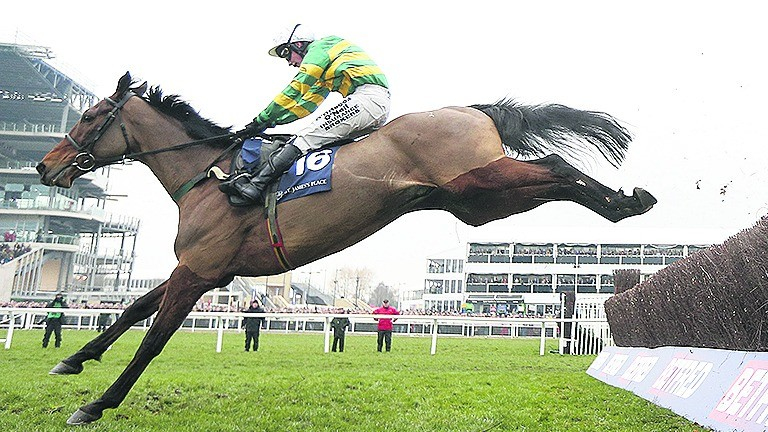 On The Fringe: a sixth Champion Hunters Chase victory would bring the house