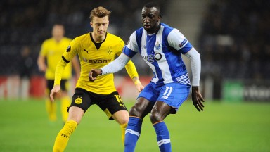 Former Porto star Moussa Marega has starred for Guimaraes