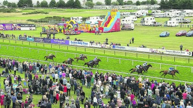 Yarmouth in August 2015, with children's entertainment. John Kimber says the course should have raced during the Easter holidays too
