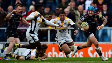 Winger Jack Nowell returns for Exeter