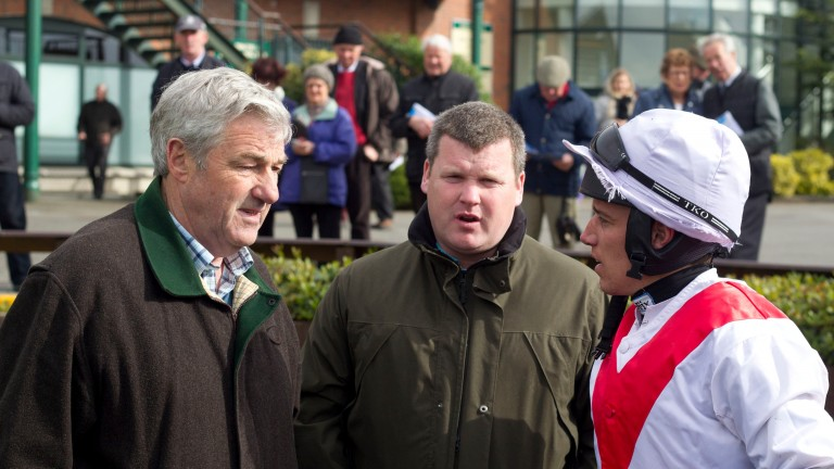 Gordon Elliott and Davy Condon, who will renew their old association in the summer