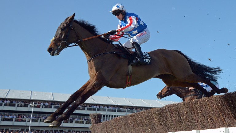 Special Tiara and Noel Fehily head for victory in the Champion Chase