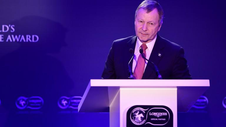 Winfried Engelbrecht-Bresges, chief executive of the Hong Kong Jockey Club