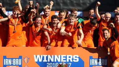 Dundee United aim to follow up their Challenge Cup win with promotion