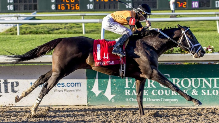 Girvin: winner of back-to-back Kentucky Derby trials at Fair Grounds