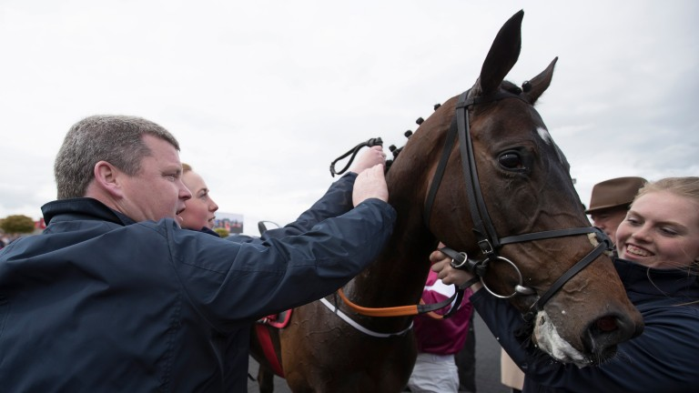 Apple's Jade: will be bidding to register back-to-back victories in the OLBG Mares' Hurdle