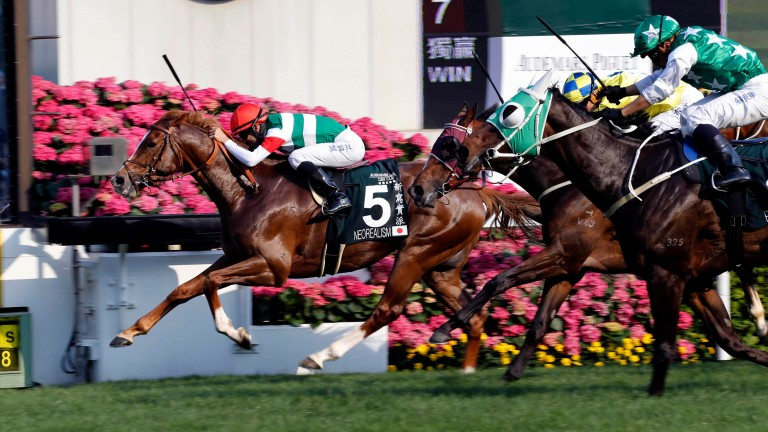 Neorealism with Joao Moreira in the saddle claims the QEII Cup