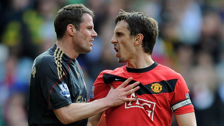 Sky Sports colleagues Jamie Carragher and Gary Neville now have a better idea of the match officials' job