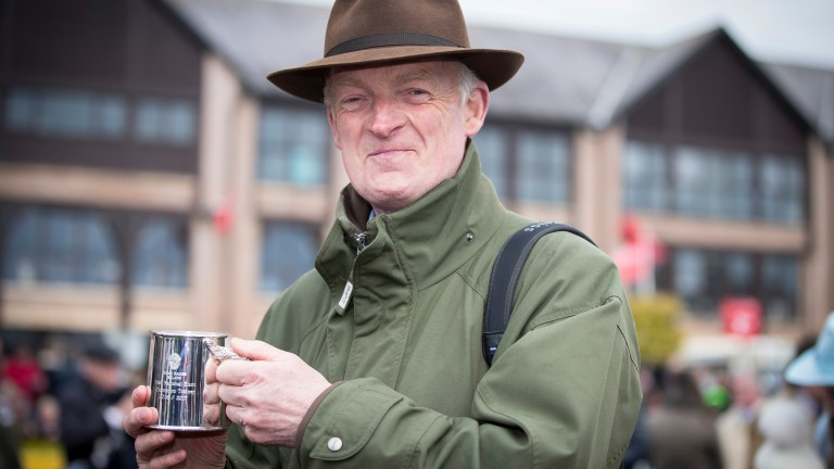 Willie Mullins: looks to have a strong hand in the juvenile division