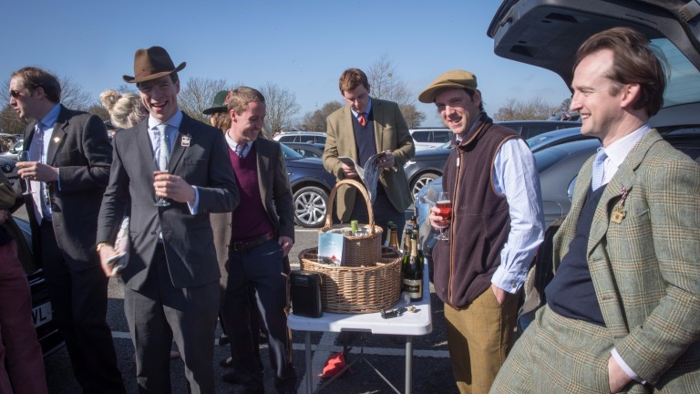 Jumps racing offers a relaxed attitude to dress and refreshments