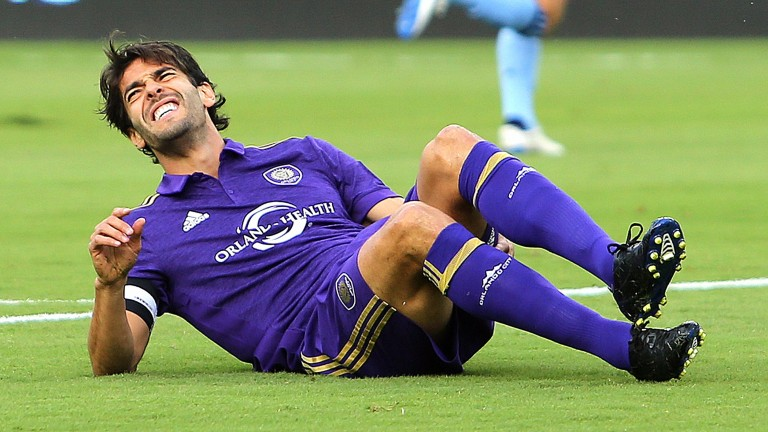 Orlando star Kaka is back from an opening day injury