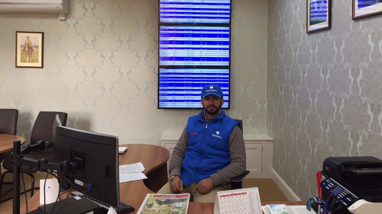 Nerve centre: Saeed Bin Suroor in his office