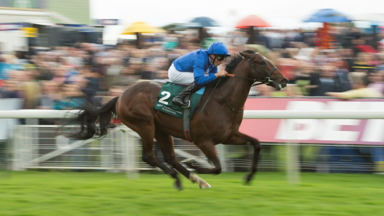 Blue Point and William Buick land the Gimcrack at York