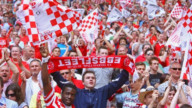 Ebbsfleet fans could be celebrating