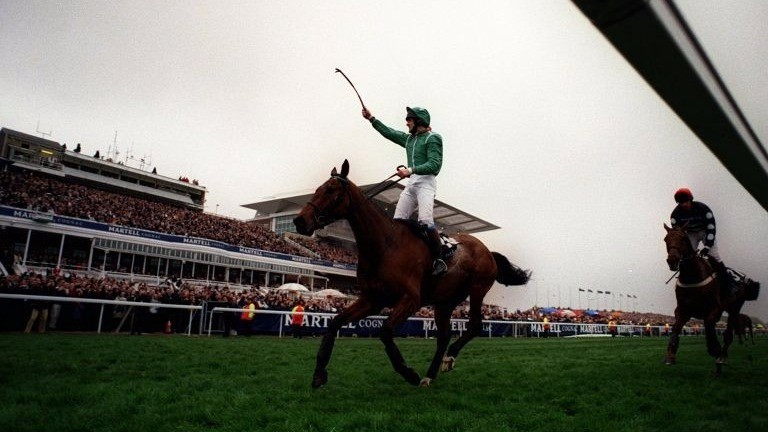 Walking the course helped persuade Gerald Delamere to back Papillon for the 2000 Grand National