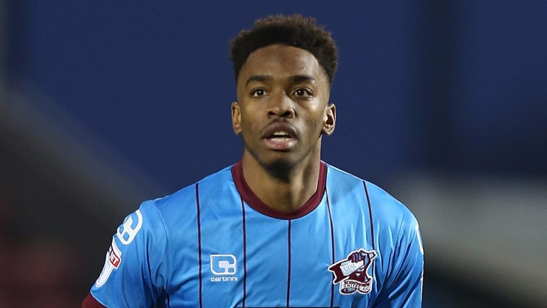 Scunthorpe's Ivan Toney has had a strong second half of the season