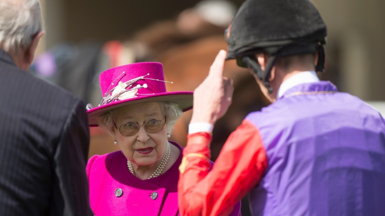 The Queen: prospect has been raised of her missing a day of Royal Ascot