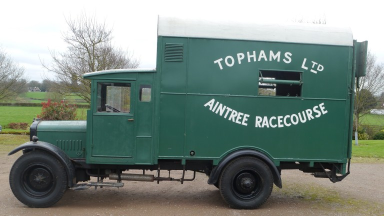Slice of history: the Aintree racecourse horse ambulance is due to go to auction