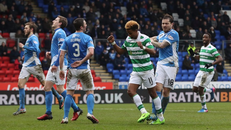 Celtic ran out 5-2 winners the last time they faced St Johnstone