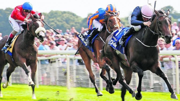 Seventh Heaven and Colm O'Donoghue land last season's Yorkshire Oaks