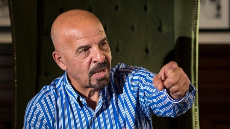 Strong opinions: Marwan Koukash is rarely under the radar