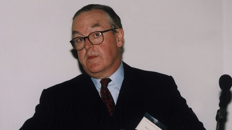 David Oldrey was honoured by the TBA on FRiday night