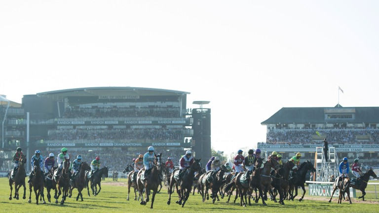 Many seated areas at the Grand National sold out within hours of going on sale