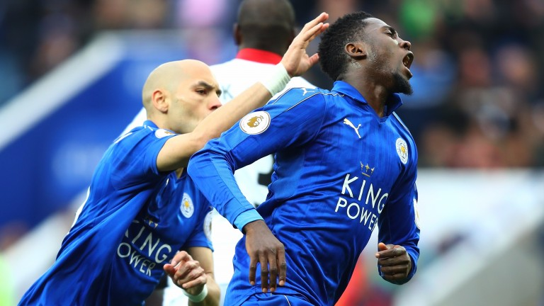 Wilfred Ndidi (right) has been a big plus for Leicester in recent months
