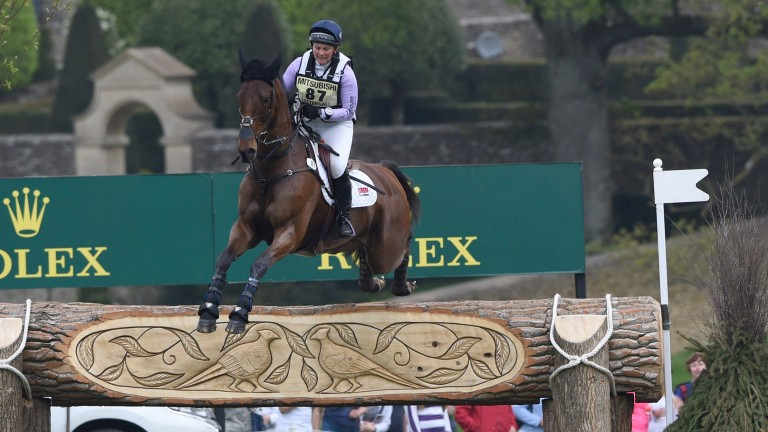 Gemma Tattersall and Arctic Sou: seen in action at last year's event, finished seventh at Badminton at the weekend