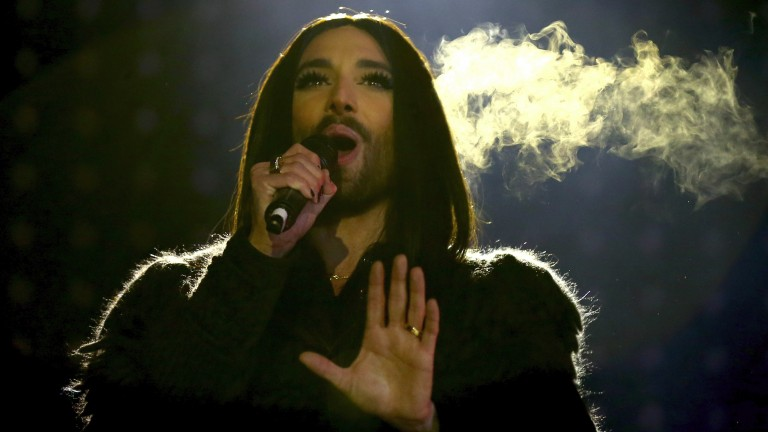 Austria's Conchita Wurst won the Eurovision in 2014