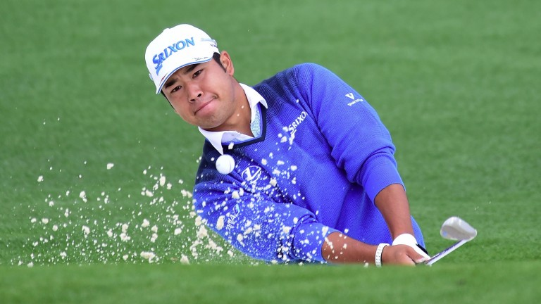 Hideki Matsuyama was in sublime form on Sunday