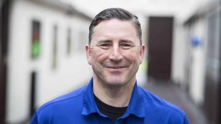 Owen Smyth: winner of the Irish Racing Excellence Award