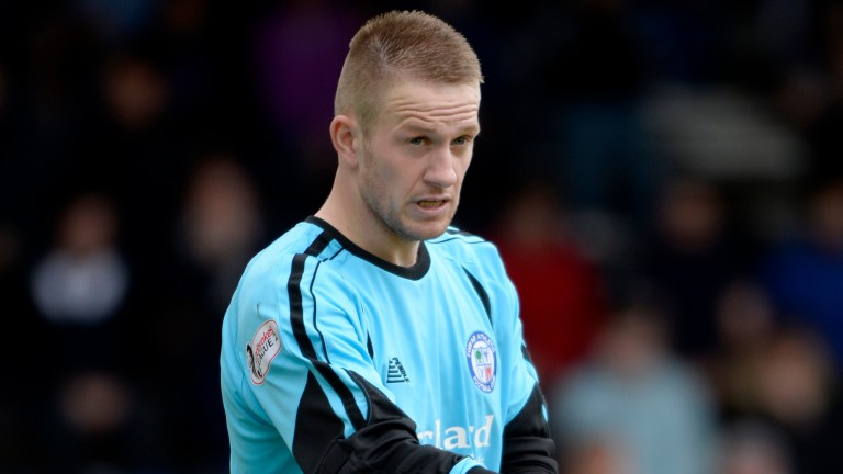 Grant Adam could be in for a busy evening between the sticks for Forfar