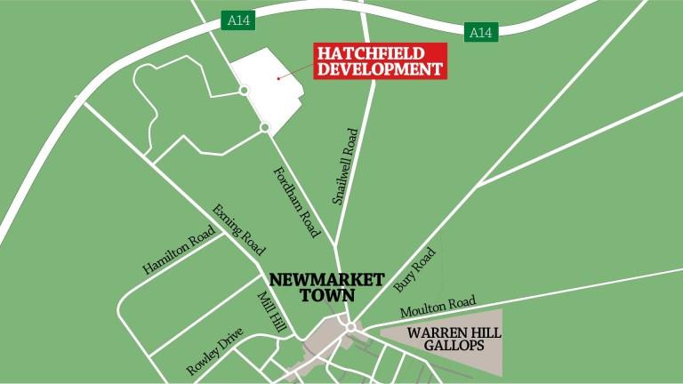 The Hatchfield development