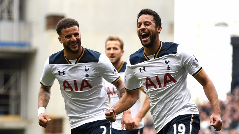 It's been all smiles for Tottenham at White Hart Lane this season